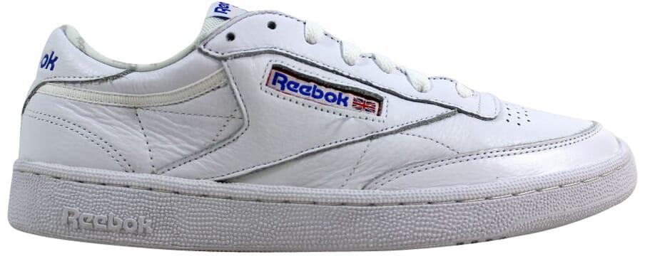 af2f5469725b Reebok Club C 85 SO White Light Solid Grey-Blue BS5214 Men s SZ 11.5 ...