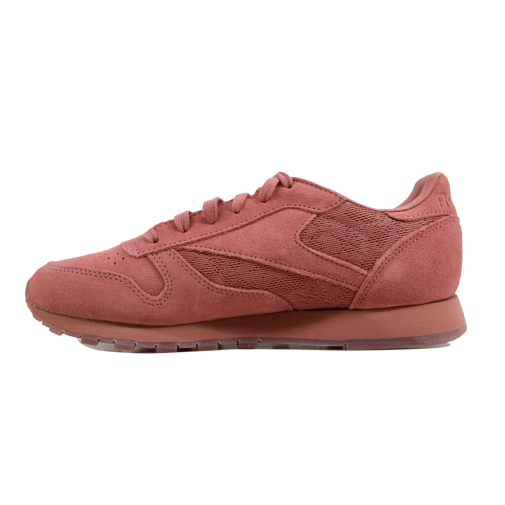 7f770d2bd660 Reebok Classic Leather Lace Sandy Rose White BS6523 Women s SZ 6.5 ...