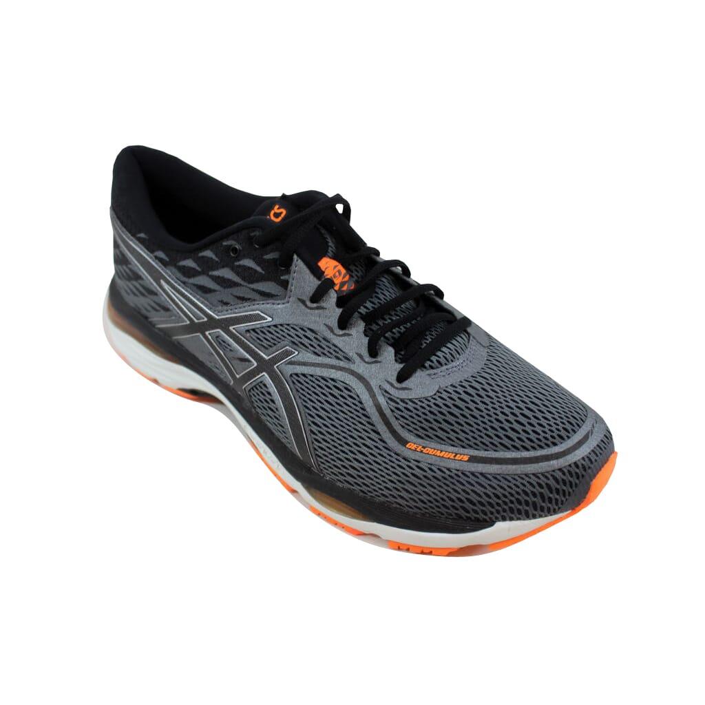 Details about Asics Gel Cumulus 19 CarbonBlack Hot Orange T7B3N 9790 Men's Size 9.5