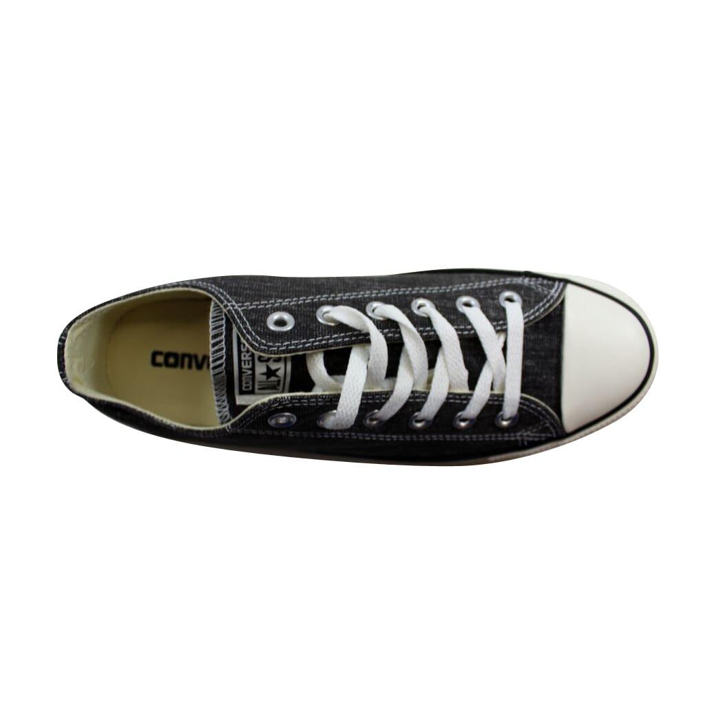 2cea8bb50d6f2 Details about Converse Chuck Taylor Ox Black Egret/Black Denim 147037F  Men's SZ 9