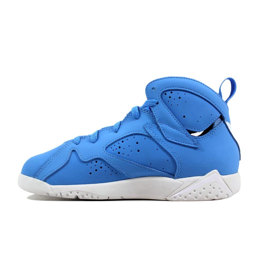 80c6f7341bf Nike Air Jordan VII 7 Retro BP Blue White-White Pantone 304773-400 ...