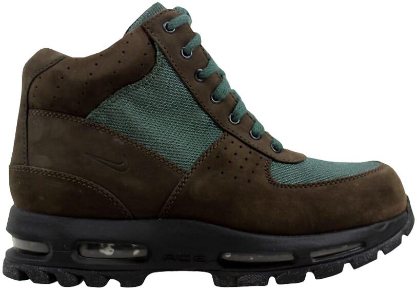 Nike Air Max Goadome GS Big Kid/'s Boots Chocolate//Black//Green 311567-225