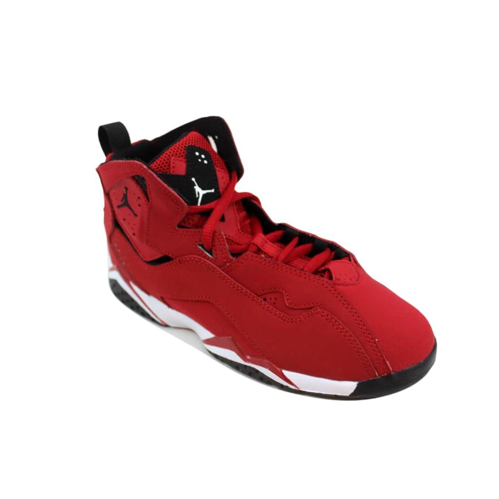 25e1566b05ebc8 Nike Air Jordan True Flight BP Gym Red Black-White 343796-610 Pre ...