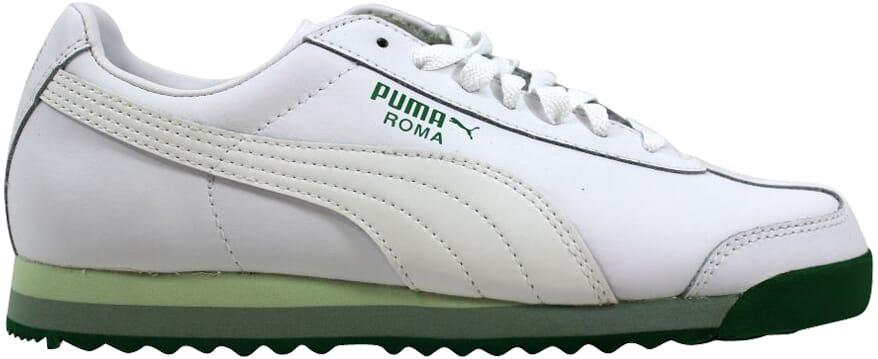 49b1b47bda2be Details about Puma Roma PFTS White/Amazon-Reed 344615 02 Women's SZ 6.5