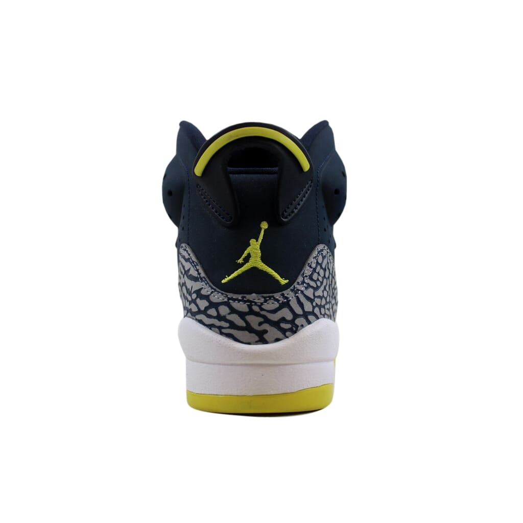 db2d9e57763 Details about Nike Air Jordan Son Of Mars Armory Navy Electrolime-White  512246-405 GS SZ 7Y