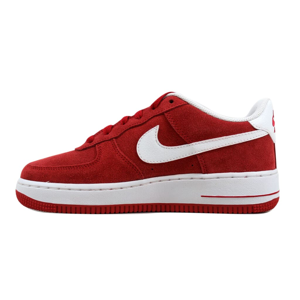 fe499c912cea Nike Air Force 1 University Red White 596728-601 Grade-School SZ 4Y ...