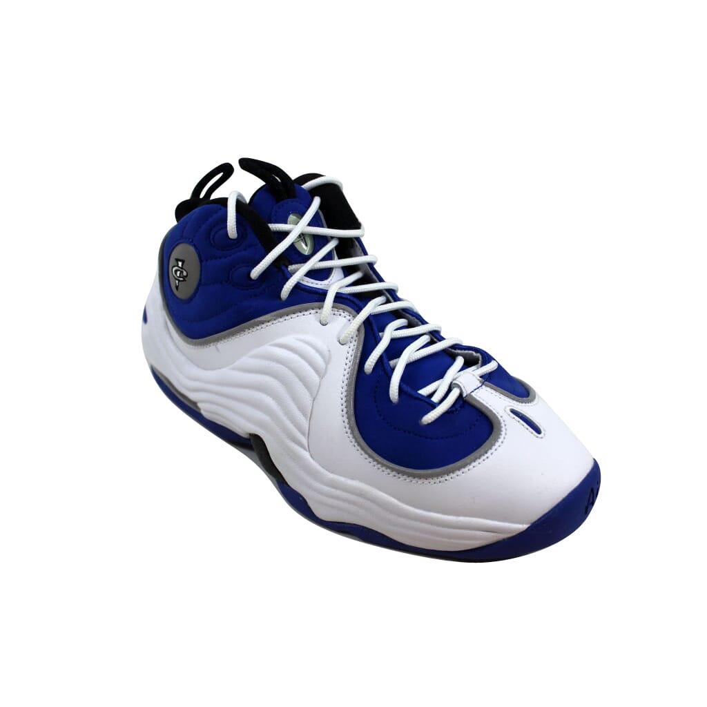 cc9c8afbc306 Nike Air Penny II 2 College Blue Black-White 820249-400 Grade-School ...