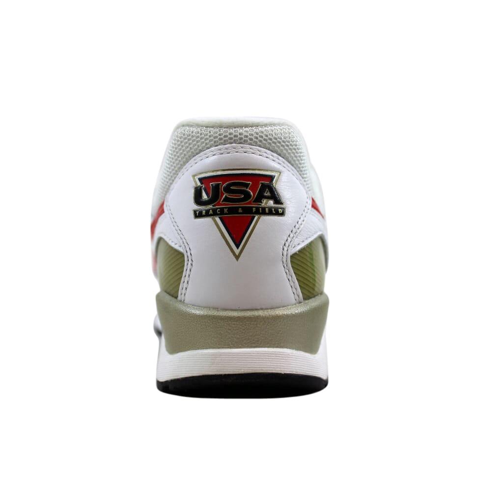 new product fbc22 85b43 Nike Air Pegasus  92 Premium White Red-Navy Olympic 844964-100 Men s SZ 8.5