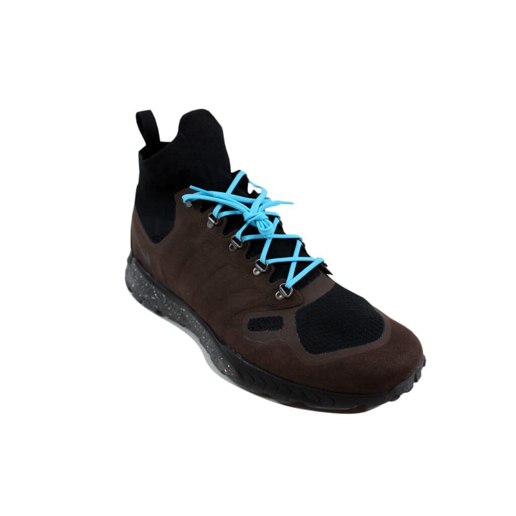 51984bb69cd07 Nike Zoom Talaria Mid Flyknit Baroque Brown Gamma Blue-Black Men s 856957-200  Size 13 Medium