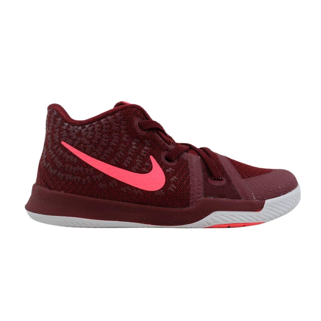 010a8f4d957b Nike Kyrie 3 Team Red Hot Punch-White 869984-681 Toddler SZ 10C ...