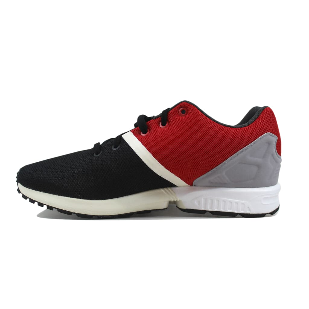 Adidas ZX Flux Split Black Black-Red AF6358 Men s SZ 8  88e5b293b