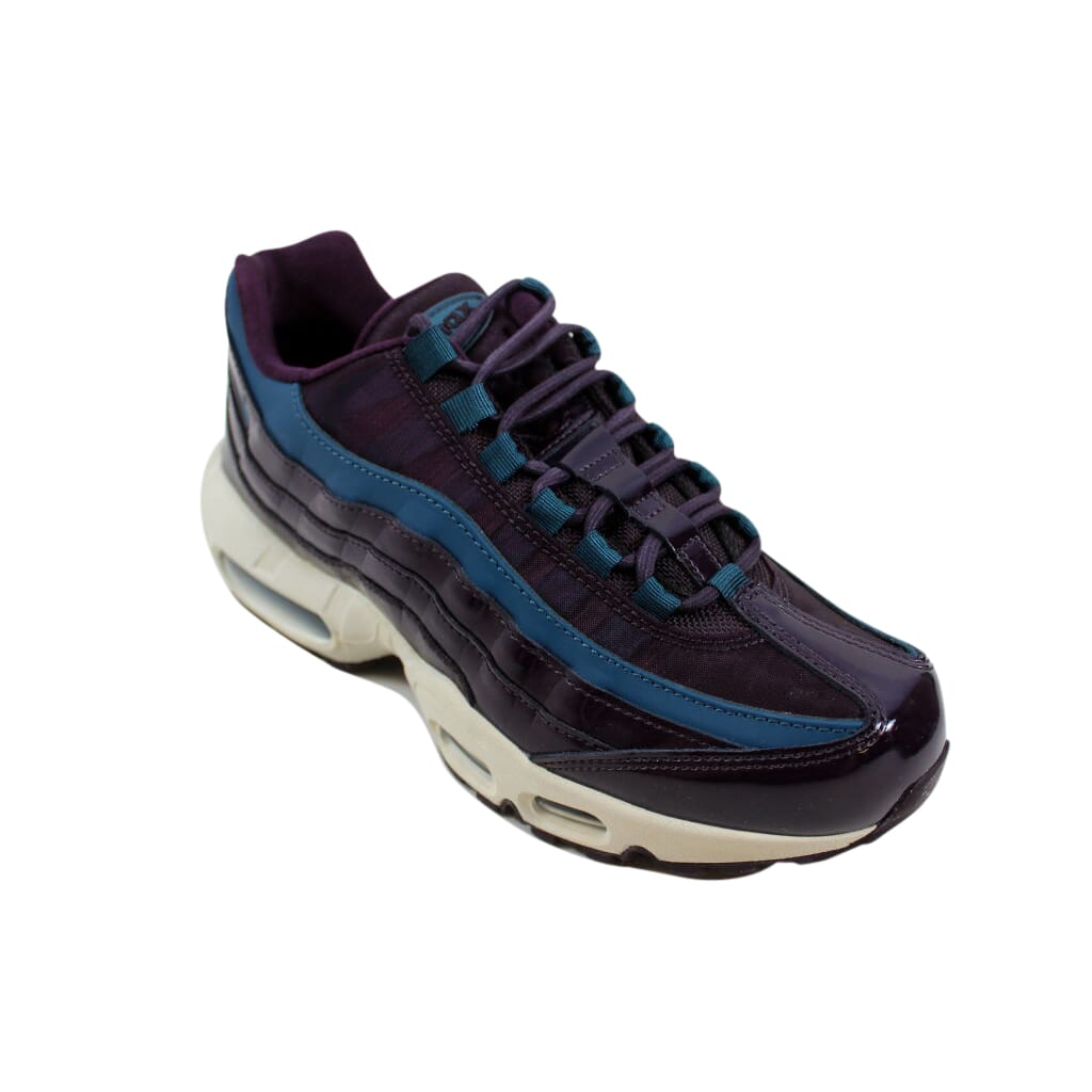 Details about Nike Air Max 95 SE Premium Port WineSpace Blue AH8697 600 Women's SZ 8