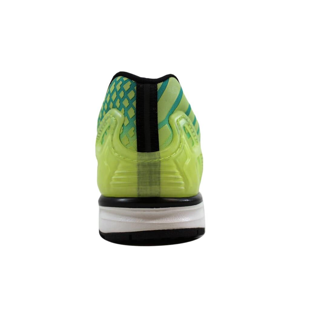 e88fc61e672b Adidas ZX Flux Frozen Yellow Shock Mint-White AQ8212 Men s Size 7.5 ...