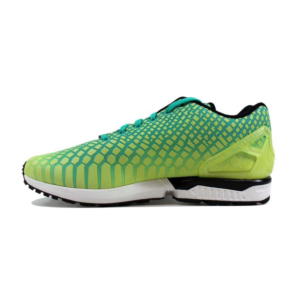 da6cc3853b7ce Adidas ZX Flux Frozen Yellow Green-White AQ8212 Men s Size 11 ...