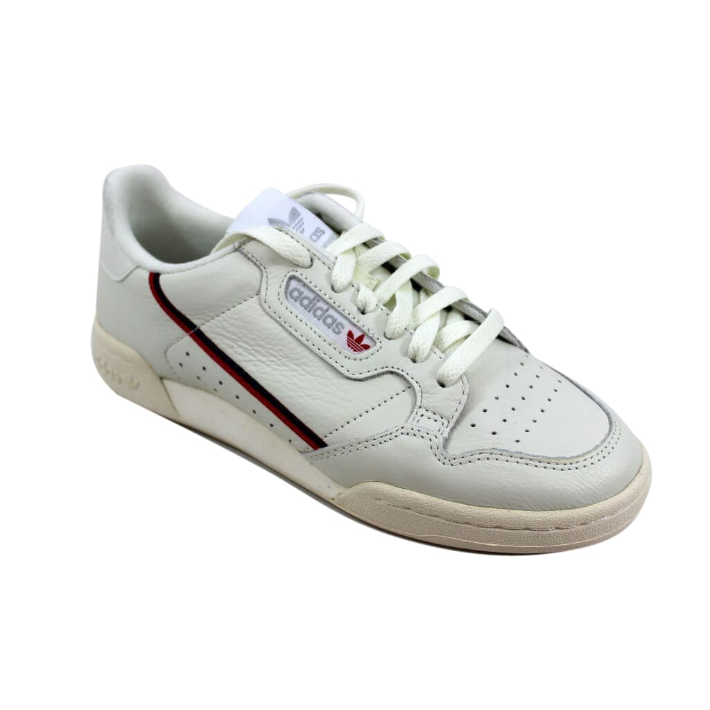 cheap for discount 1940a 38933 Adidas Continental 80 White TintOff White-Scarlet Red B41680 Mens SZ 7.5