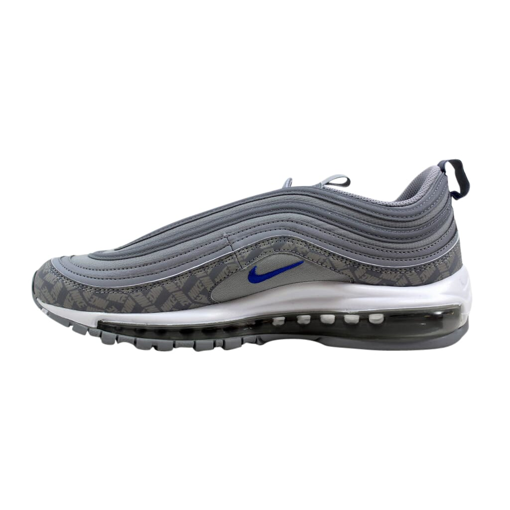 Nike Air Max 97 Wolf Grey Game Royal BQ3165-001 Men s SZ 9.5  a9c81bc035737