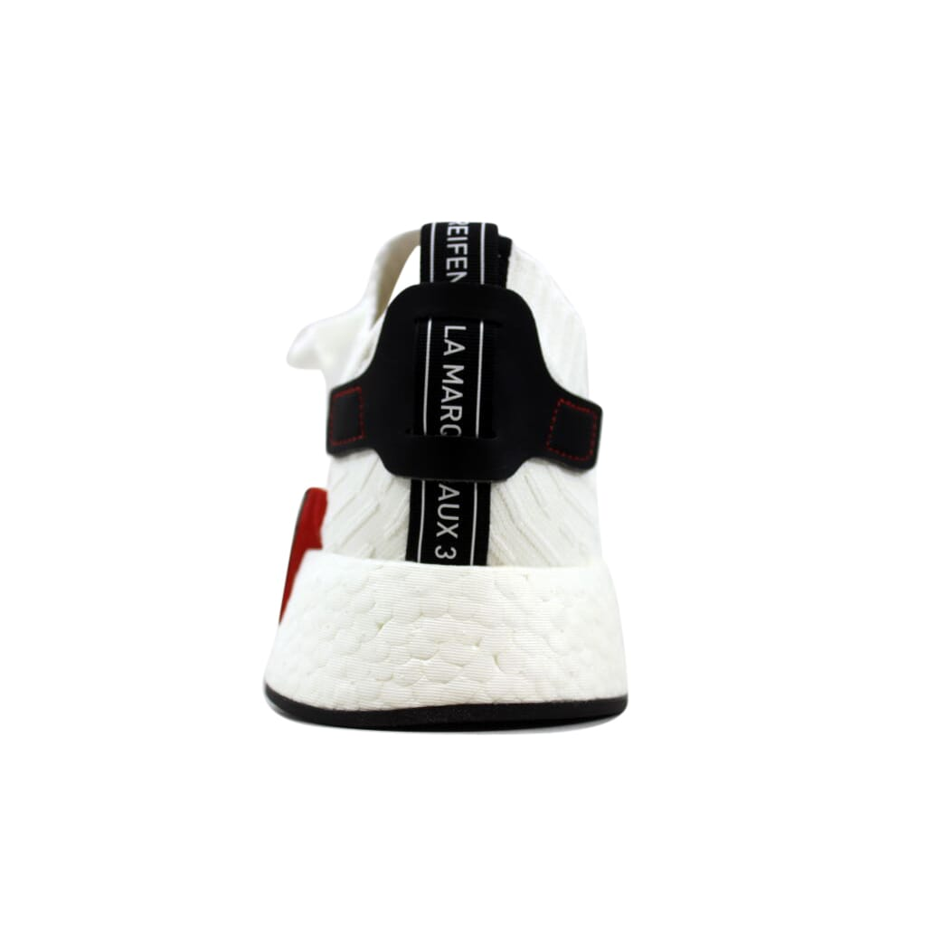 Details zu Adidas NMD R2 Primeknit WhiteBlack BY3015 Men's Size UK 3.5