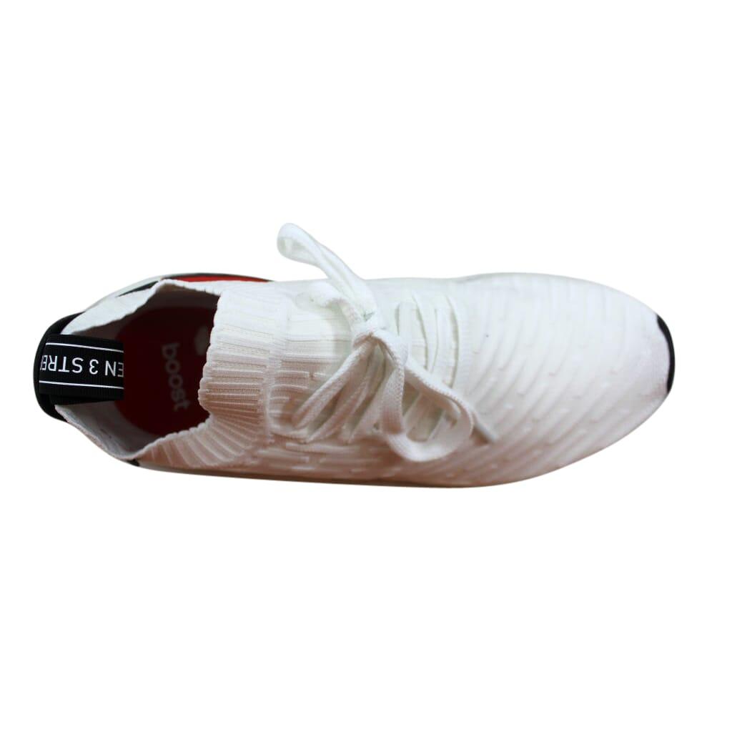 c5883209dfb08 Adidas NMD R2 Primeknit White Black BY3015 Men s Size 11 ...