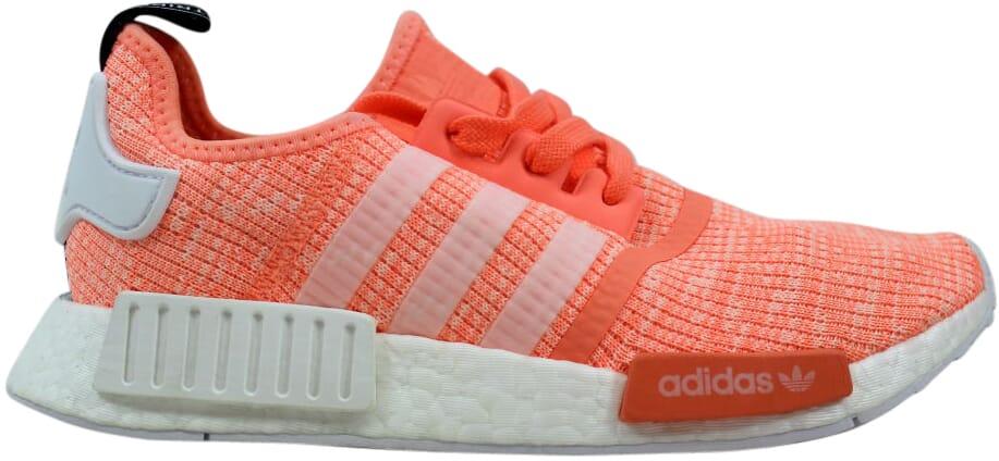 Adidas NMD R1 W Sun Glow White-Coral BY3034 Women s SZ 7.5 ... a9b960810