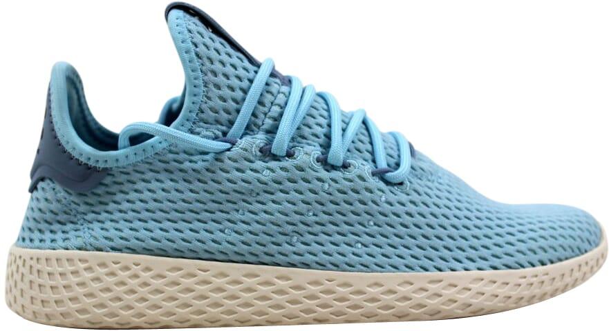 the latest d94a2 63c21 Image is loading Adidas-Pharrell-Williams-Tennis-Hu-J-Ocean-Blue-