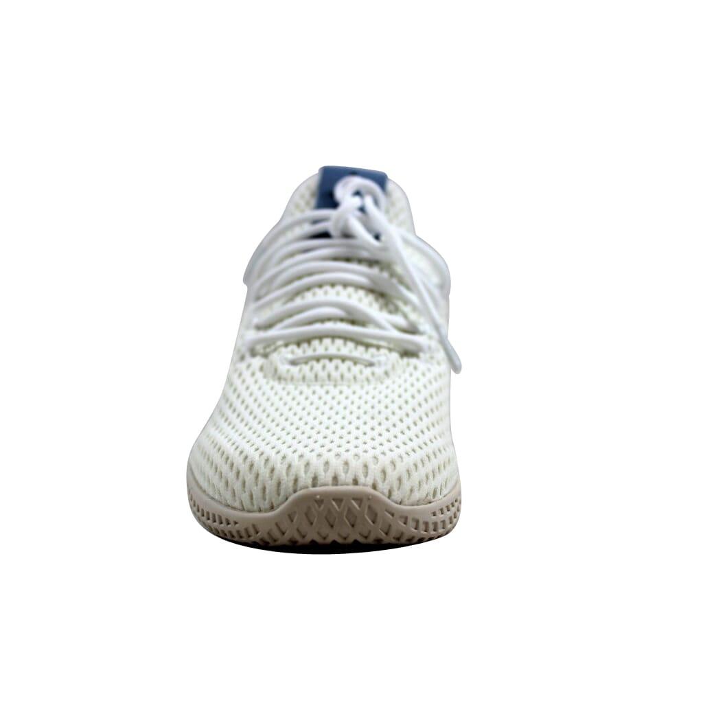 4c9a23cc7ba0d Adidas Pharrell Williams Tennis Hu J White Blue CP9804 Grade-School ...