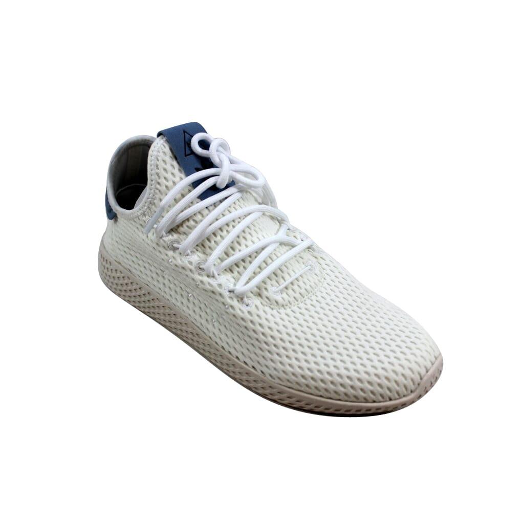 7ba5b28a916eb Adidas Pharrell Williams Tennis Hu J White Blue CP9804 Grade-School ...