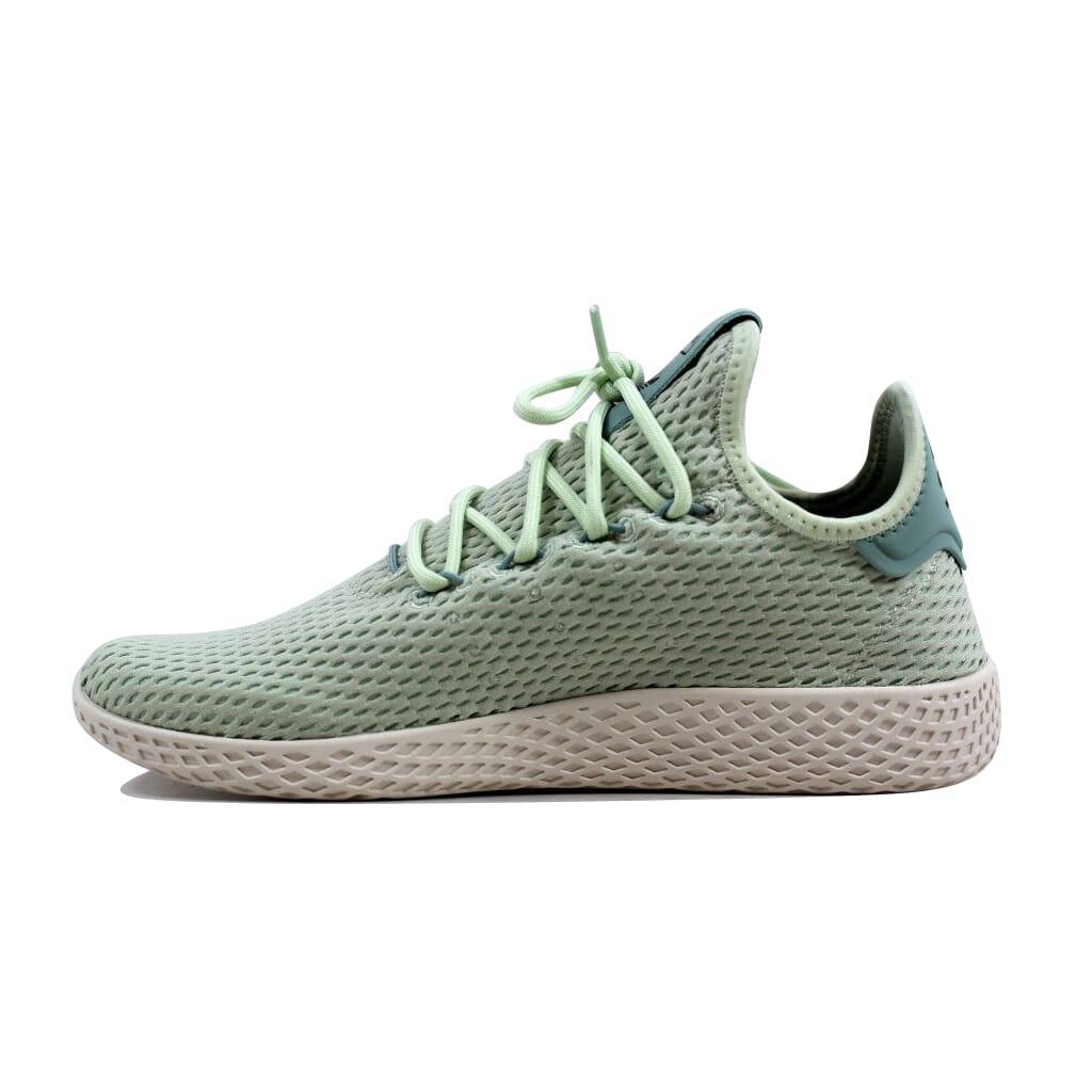 02d28509900f6 Adidas Pharrell Williams Tennis Hu J Linen Green White CP9806 Grade ...