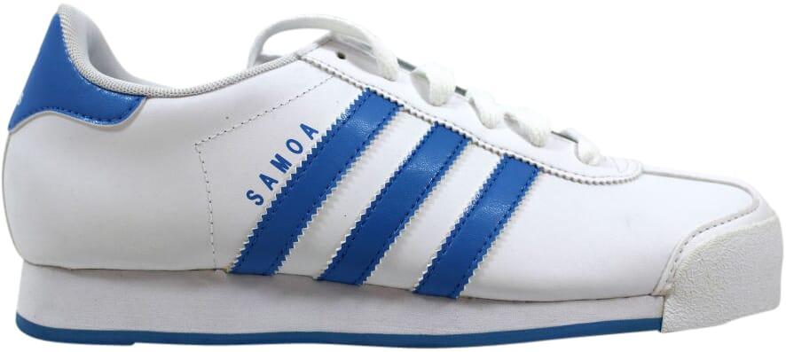 competitive price 8c0ab ea1ec Image is loading Adidas-Samoa-W-White-Blue-G47678-Women-039-