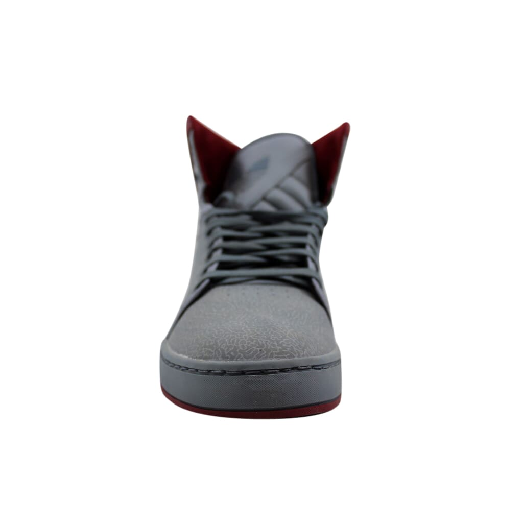 premium selection db3d8 717dd Adidas-Adi-High-EXT-Grey-Red-G56626-Men-