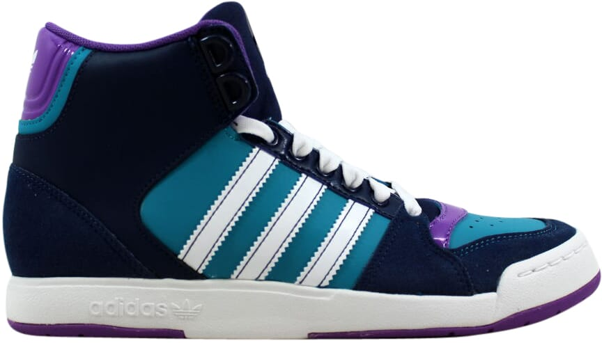 Adidas Midiru Court Mid 2.0 W Dark Navy White-Green G61140 Women's SZ 8