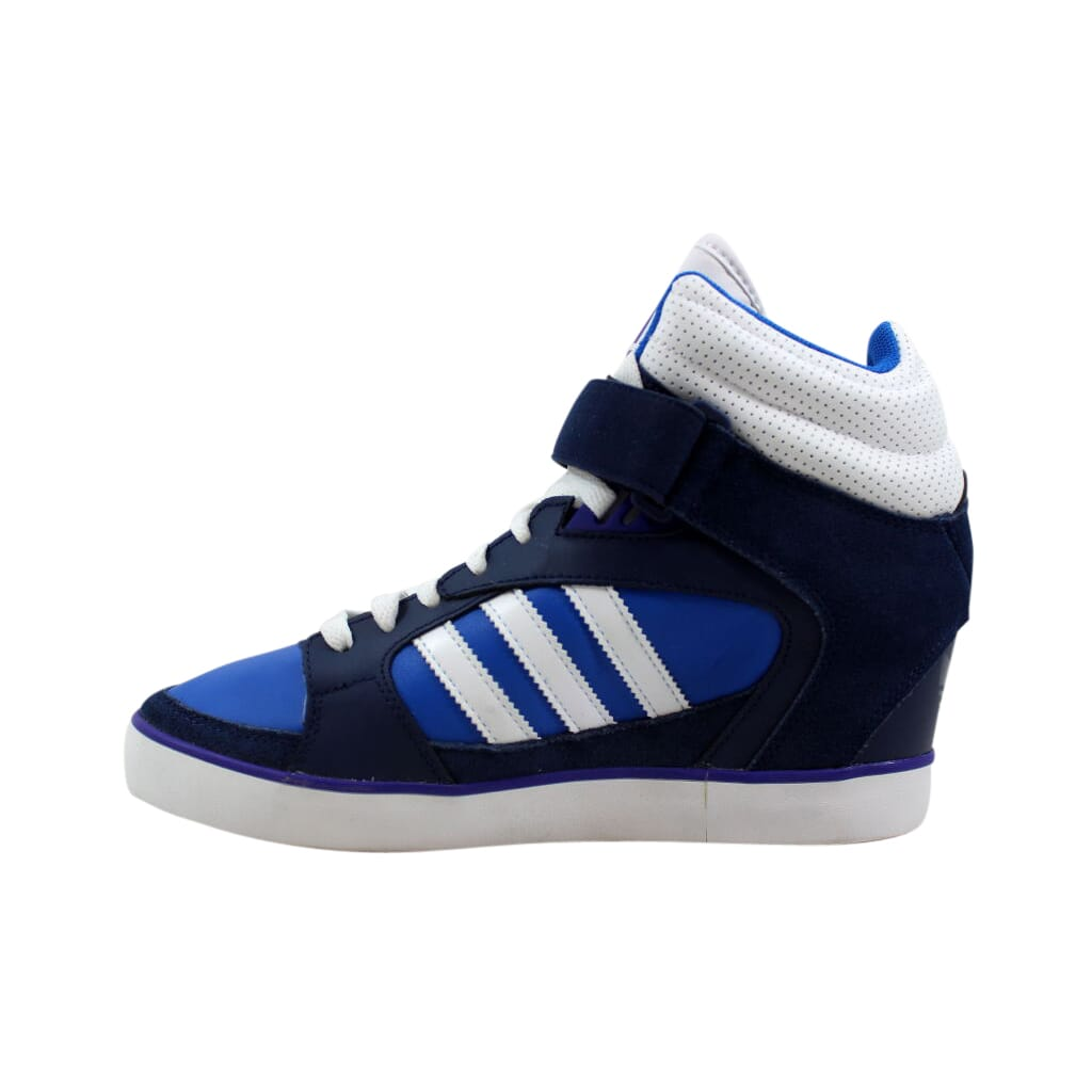 b8c39294b91d Adidas Amberlight Up W Blue White-Purple G95640 Women s SZ 10