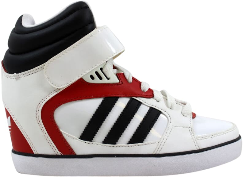newest collection bb5f6 d7862 Image is loading Adidas-Amberlight-Up-W-White-Black-Red-M20828-