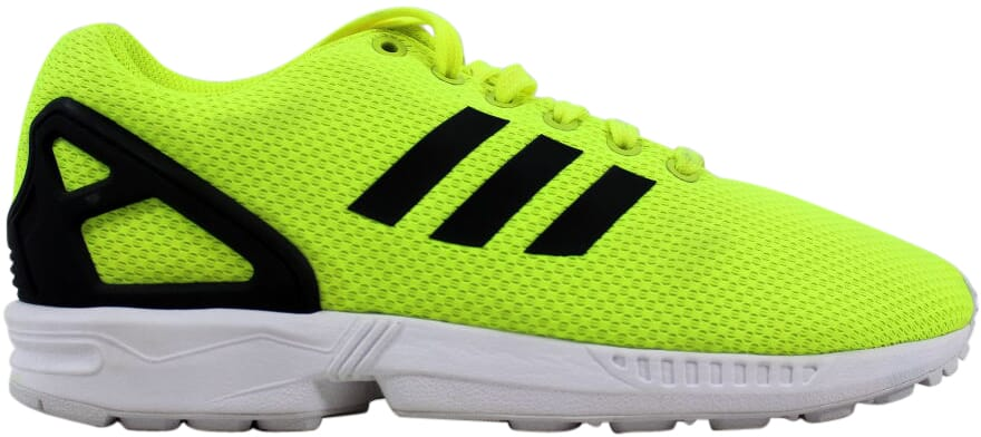 d3c95777c Image is loading Adidas-ZX-Flux-Electric-Yellow-White-M22508-Men-