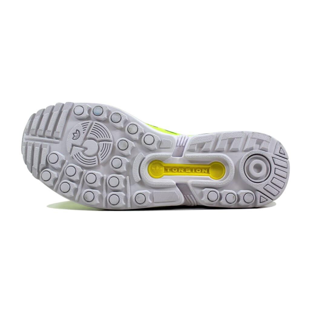 e332664eac9ff Adidas ZX Flux Electric Yellow White M22508 Men s SZ 12