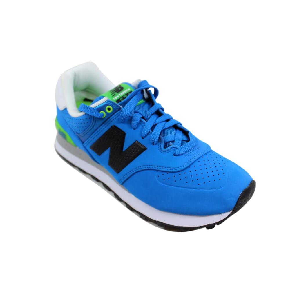 more photos 25654 4d828 Details about New Balance 574 Paint Chip Blue/Green-White ML574ACA Men's SZ  8