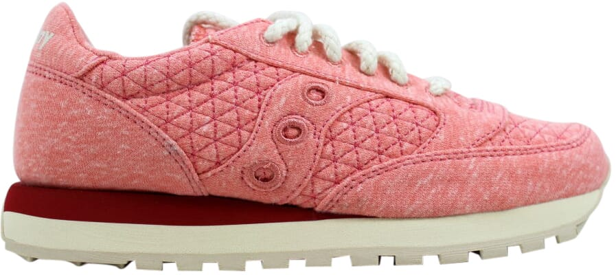 buy popular f7017 ddc38 Saucony Jazz O Cozy S60295-3 Pink Heathered Jersey Cotton Casual Shoes  Women Pinks 7.5