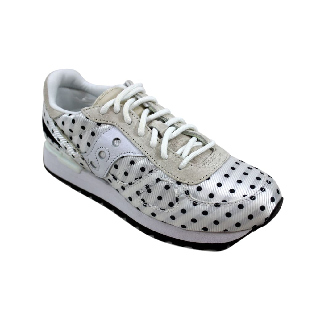 uk availability bb9b9 efaa6 Saucony-Shadow-Original-CL-White-Black-Polka-Dot-