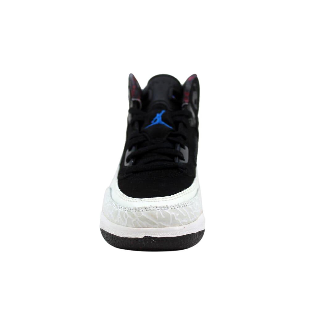 1397e3597f28 Nike Air Jordan Spiz ike Black New Blue-White-Infrared 317700-002 PS ...
