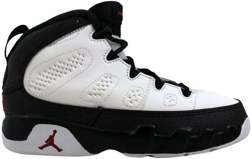 597b286eb21d Nike Air Jordan IX 9 Retro BP White True Red-Black 401811-112 PS SZ ...