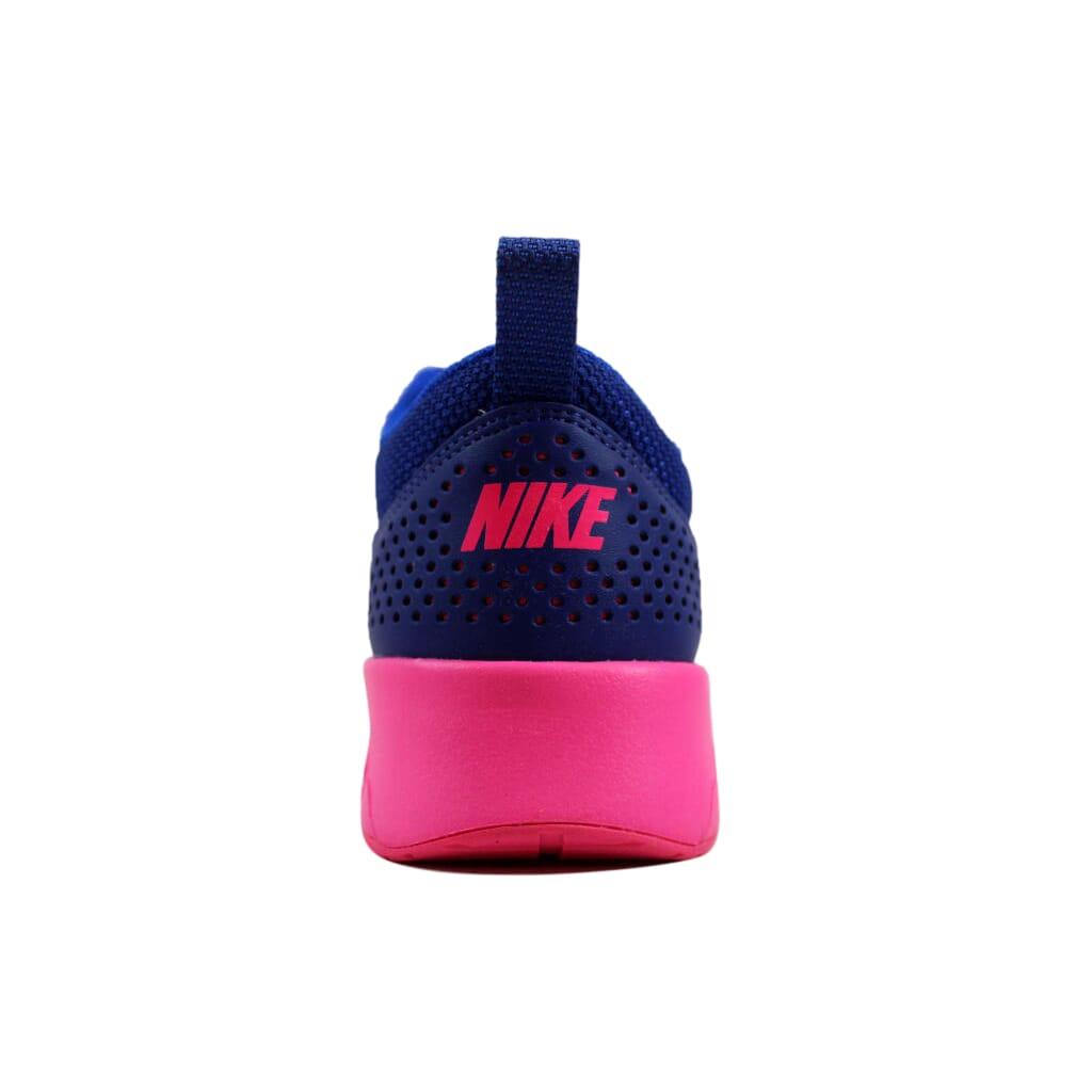 reputable site eb308 2d5d3 Nike Air Max Thea Deep Royal Blue Hyper Pink-Hyper Cobalt 599409-405 Womens  SZ 7