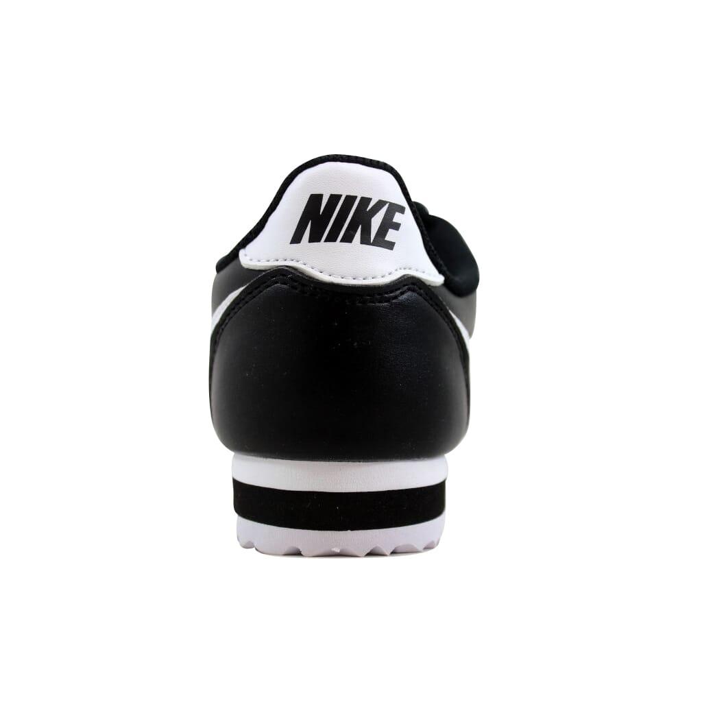 Details about Nike Classic Cortez Leather BlackWhite White 807471 010 Women's SZ 10