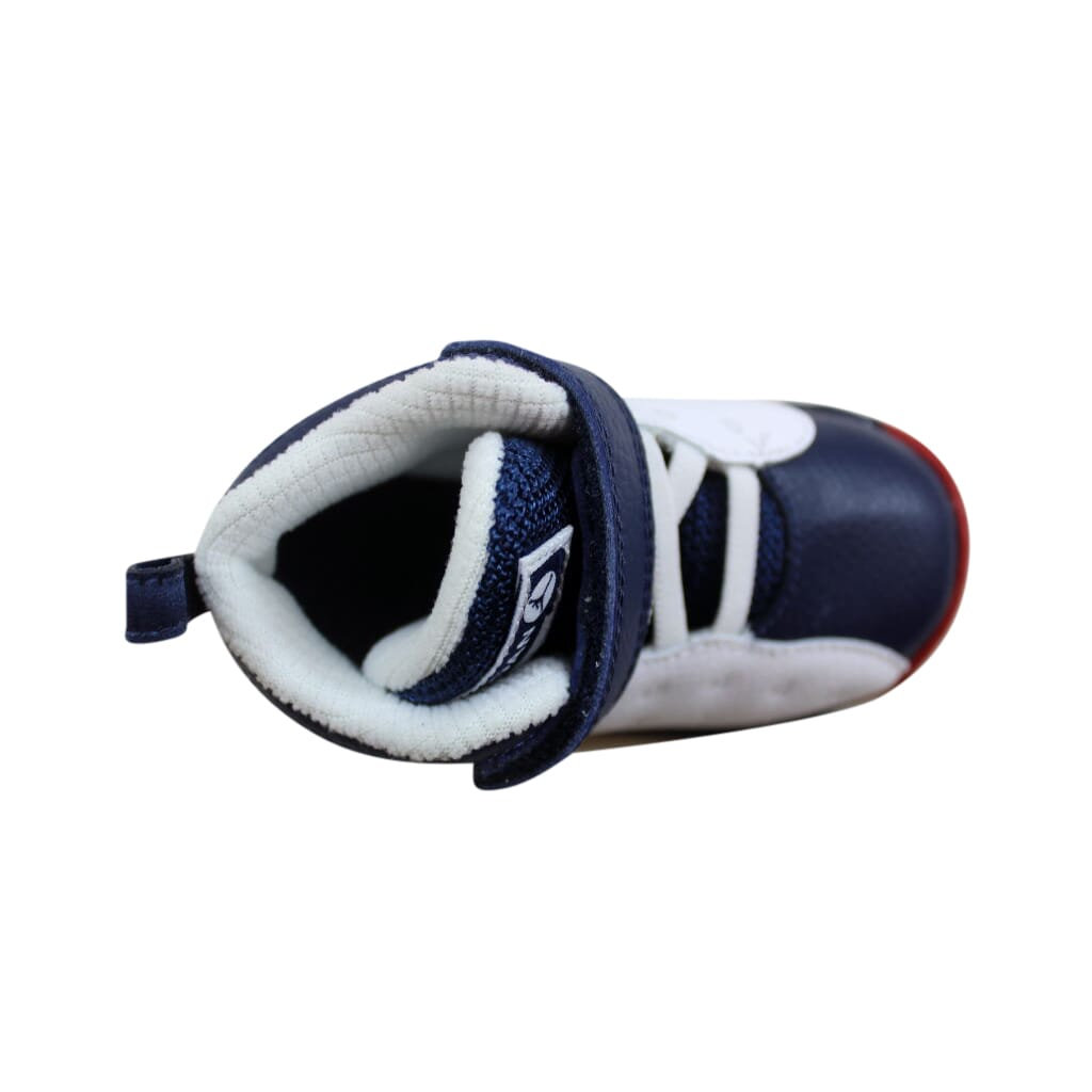 745e2a28d370c4 Nike Air Jordan Jumpman Team II 2 BT Wht Navy-Red-Gold 820275-146 ...