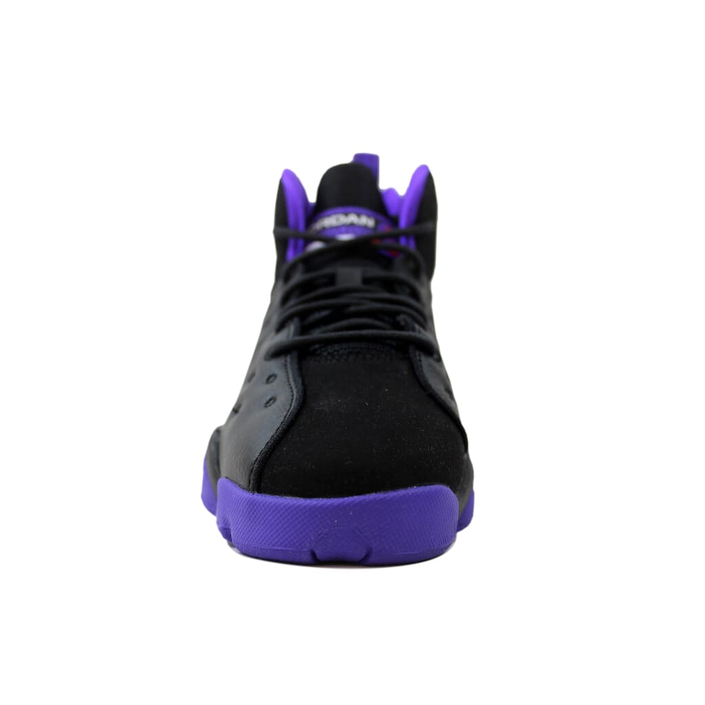 397a4c42da02a0 Nike Air Jordan Jumpman Team II 2 GG Black Ember Glow-Purple 820276 ...