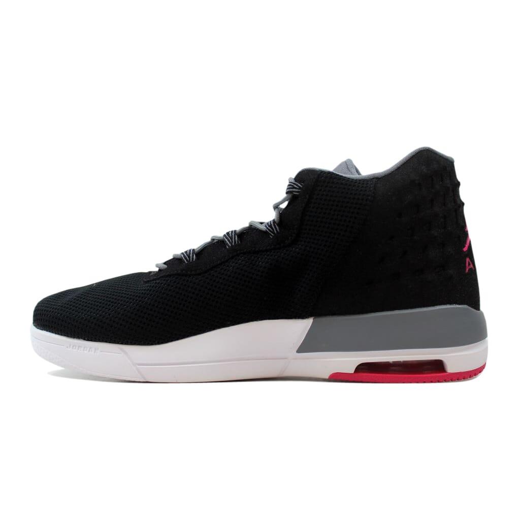 Nike Air Jordan Academy GG Black Vivid Pink-Cool Grey 854290-007 GS ... 1bdc629b1
