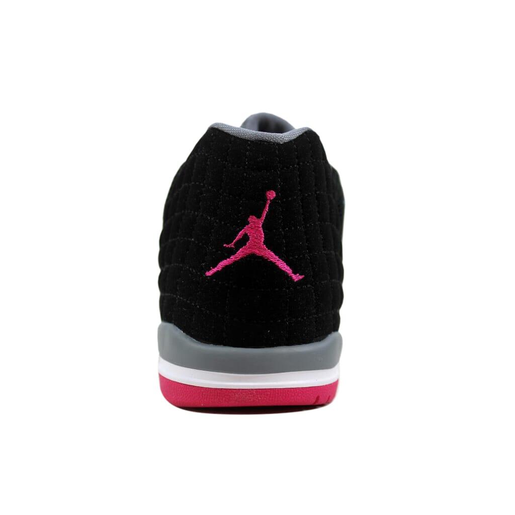 Nike Air Jordan Academy Black Vivid Pink-Cool Grey 854292-007 PS SZ 13.5Y cff53e498