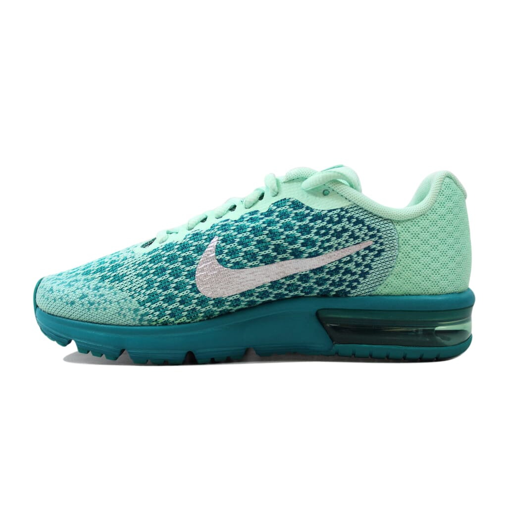 bb26d2d2d236d Nike Air Max Sequent 2 Mint Foam Metallic Silver 869994-301 Grade ...