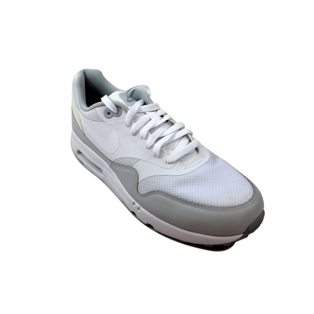 best loved e8e71 62fcd Nike Air Max 1 Ultra 2.0 Essential White White-Pure Platinum Men s 875679-101  Size 12 Medium