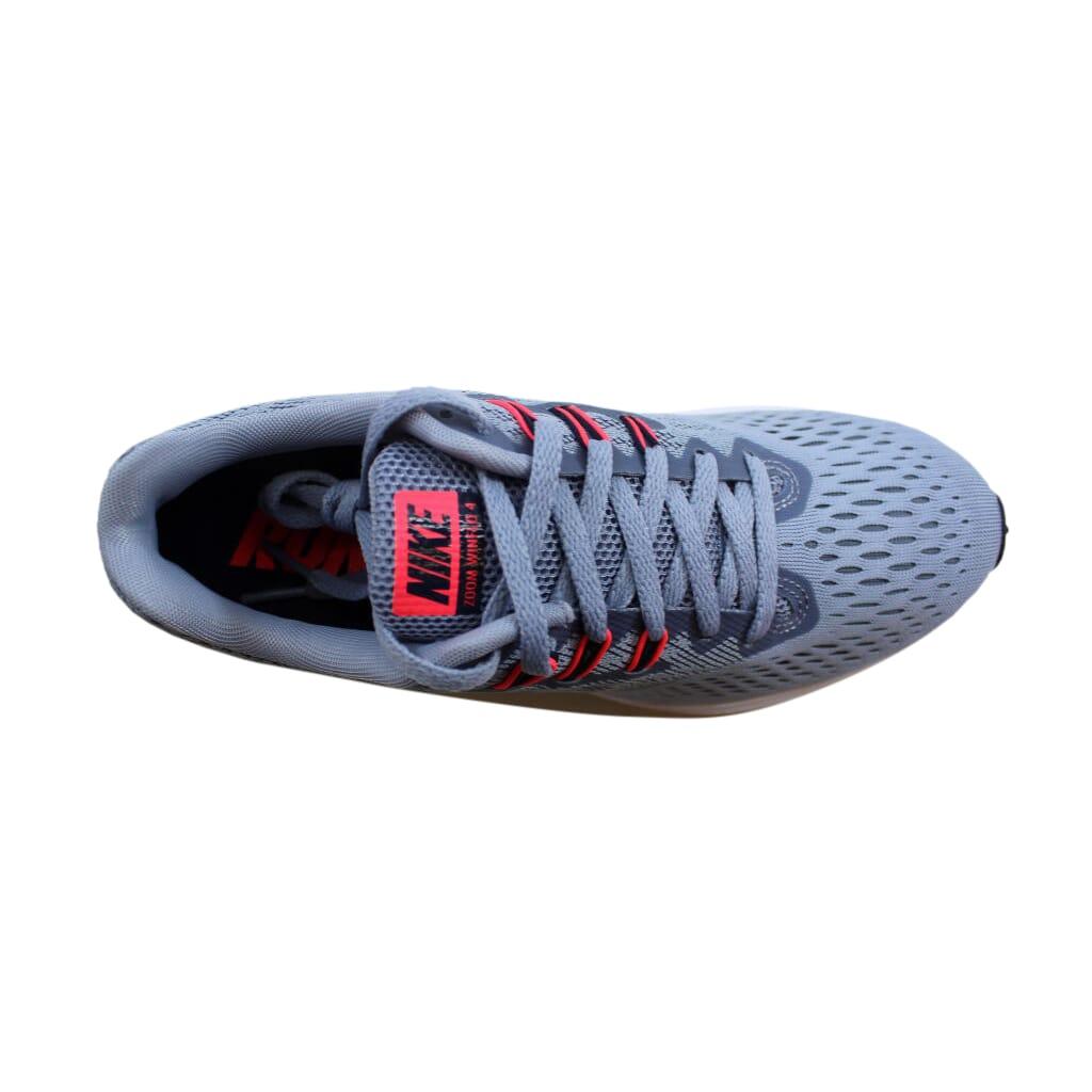 00afd3bf868f6 Nike Zoom Winflo 4 Glacier Grey Obsidian 898485-002 Women s SZ 8 ...