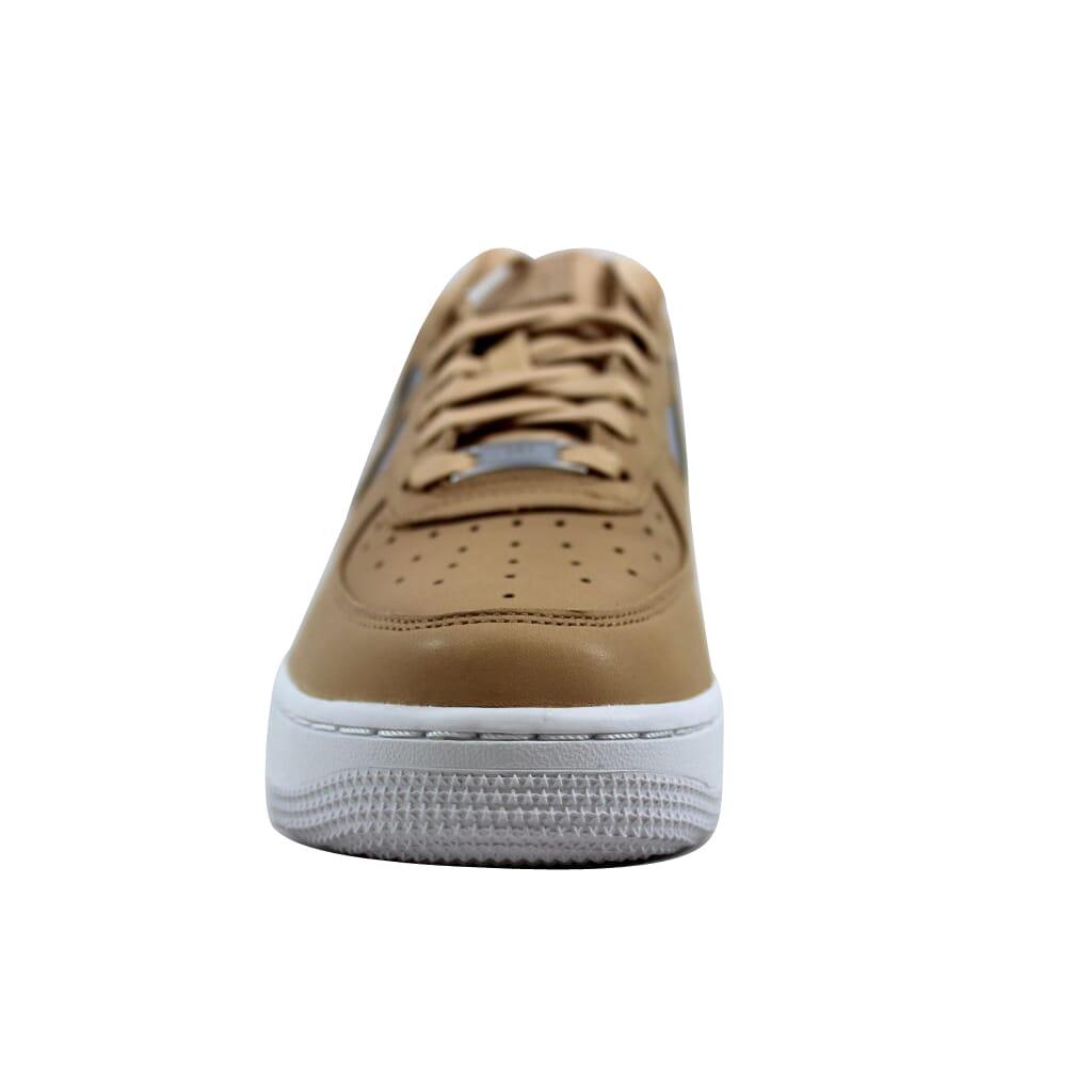 8de822ad13f Details about Nike Air Force 1 07 SE Premium Bio Beige/Metallic Silver  AH6827-200 Womens SZ 9