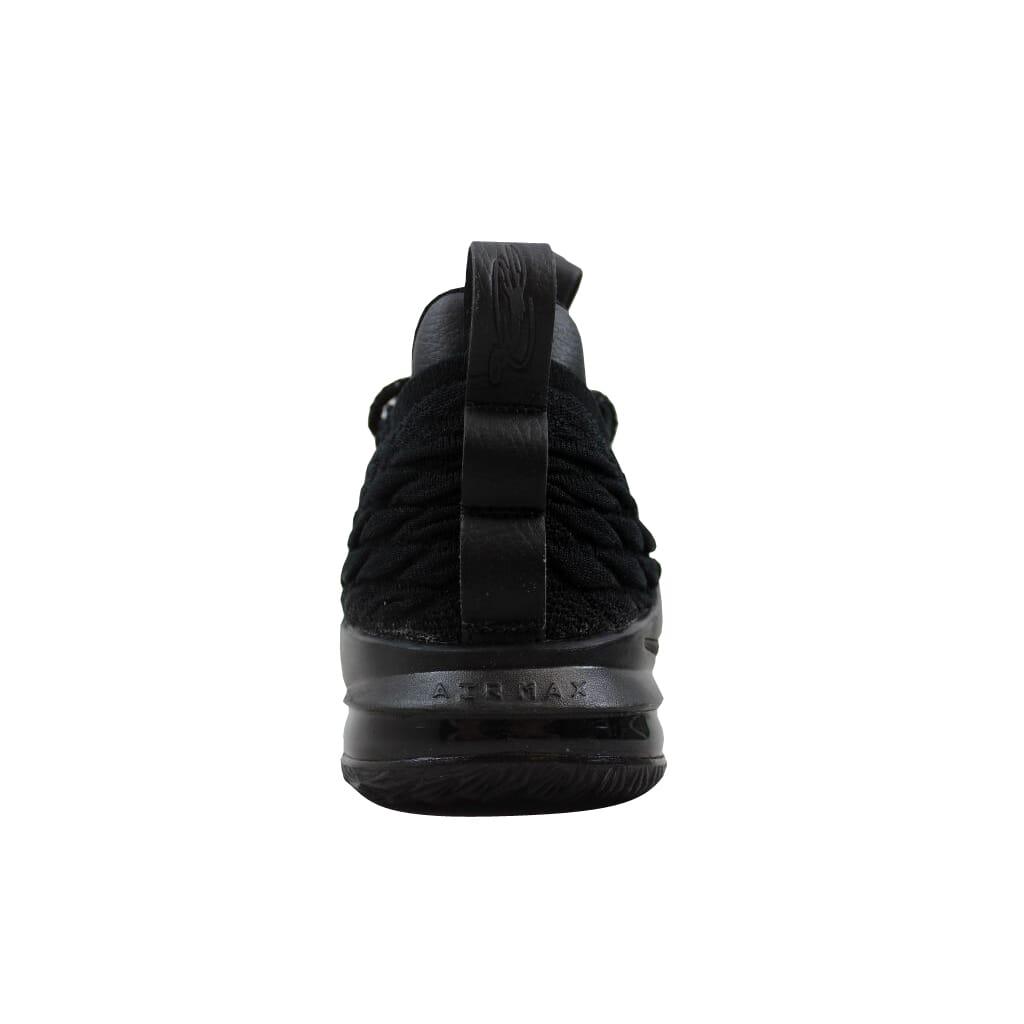 new concept 5c0be 7cb03 Nike Lebron XV 15 Low Black Black-Thunder Grey AO1755-004 Men s SZ 8.5
